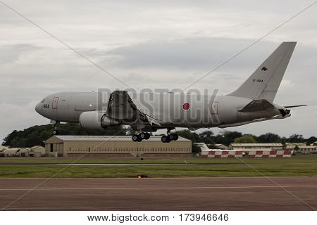 Japanese Air Defence Kc-767 Lands At Riat