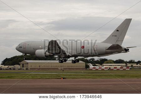 Japanese Air Defence Kc-767 Lands At Riat