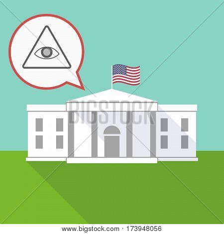The White House With An All Seeing Eye