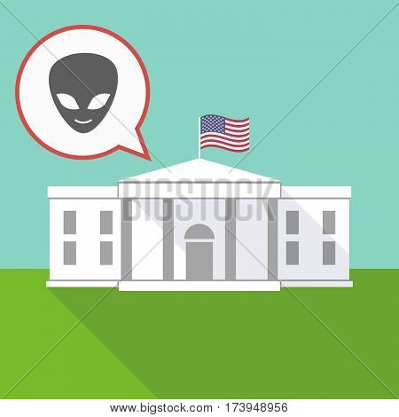 The White House With An Alien Face
