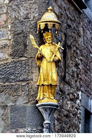 The Aachen Cathedral, also High Aachen Cathedral, Germany