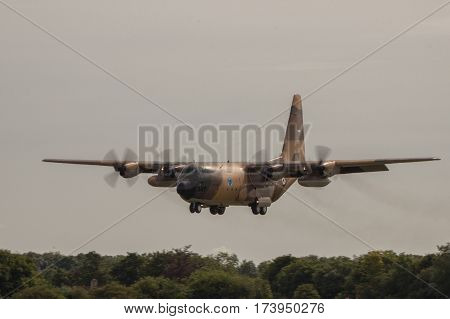 Royal Jordanian Air Force Hercules At Riat
