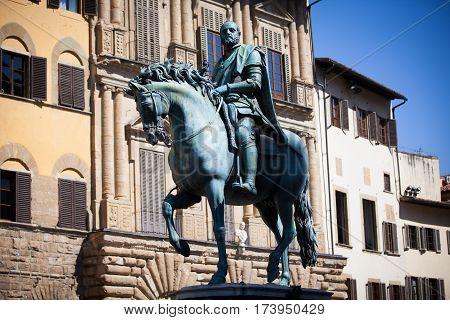 Statue Of Cosimo I De Medici, Florence