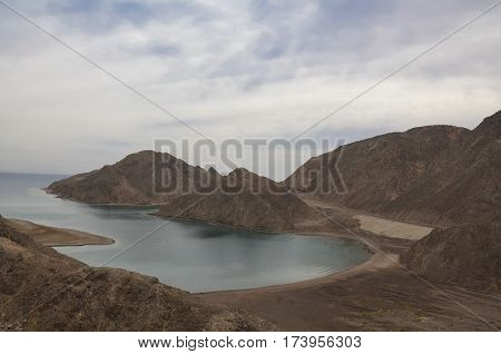 Fantastic views of the Bay Fiord in Taba. Egypt