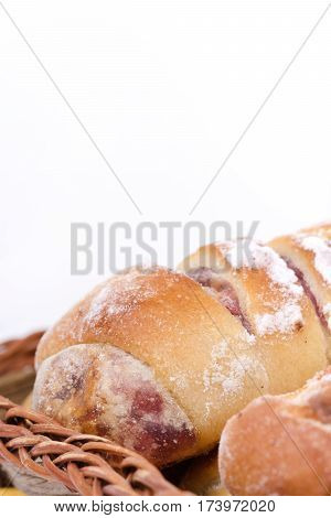 Grandmothers Kitchen Cakes Pastry Rolls Buns Copy Space