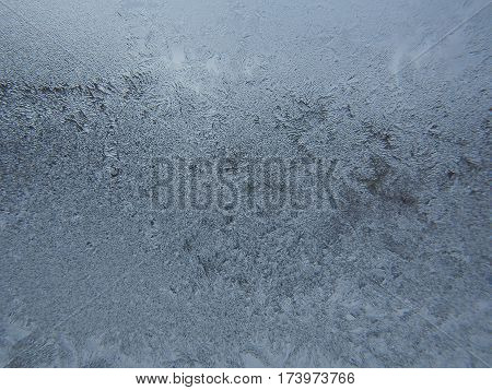 Frost On A Windowpane.