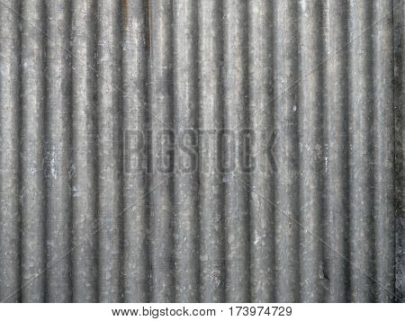 close up Galvanized Steel Roof Plate texture background poster