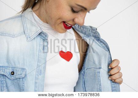 Love Design Sign Symbol Gift Jeans