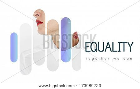 Equality Freedom Share Together Democracy