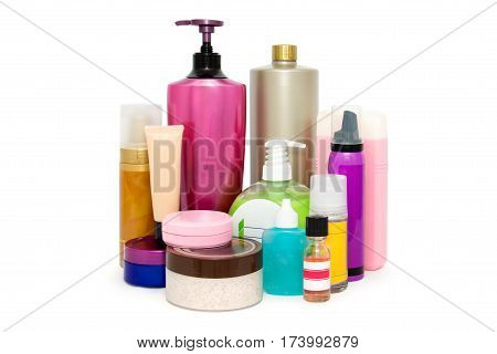 Objects and means to care for a woman's face and body