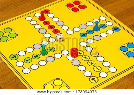 The ancient board game of Ludo Take it Easy is truly international
