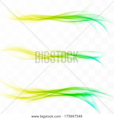 Bright futuristic hi-tech modern line layout minimalistic web header set. Vector illustration