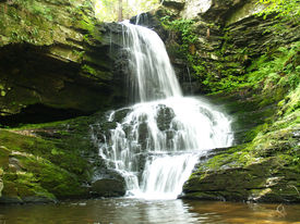 Waterfalls,Bushkills