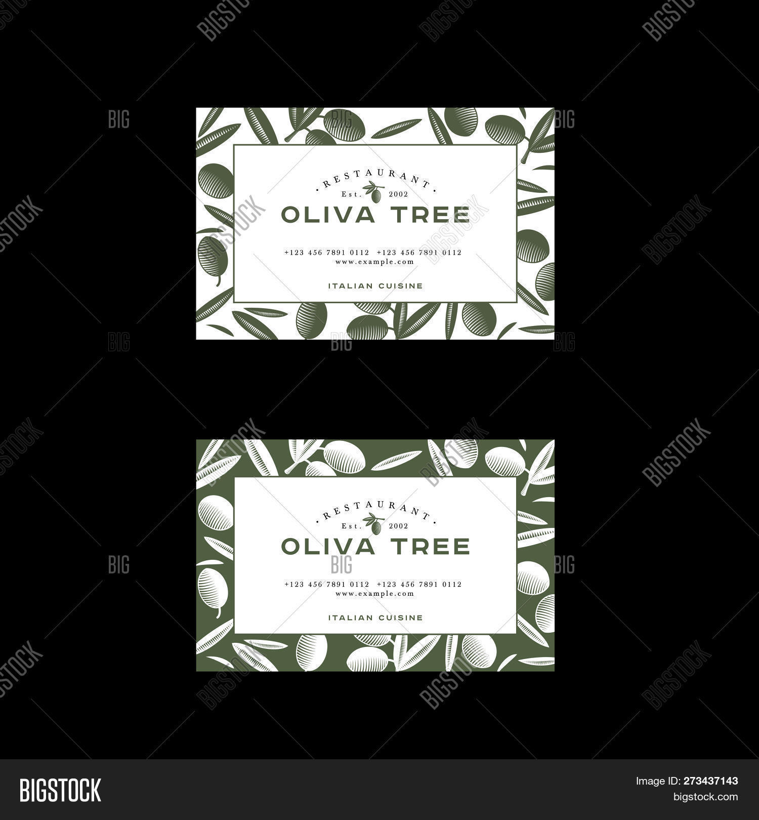 Oliva Tree Logo Vector Photo Free Trial Bigstock