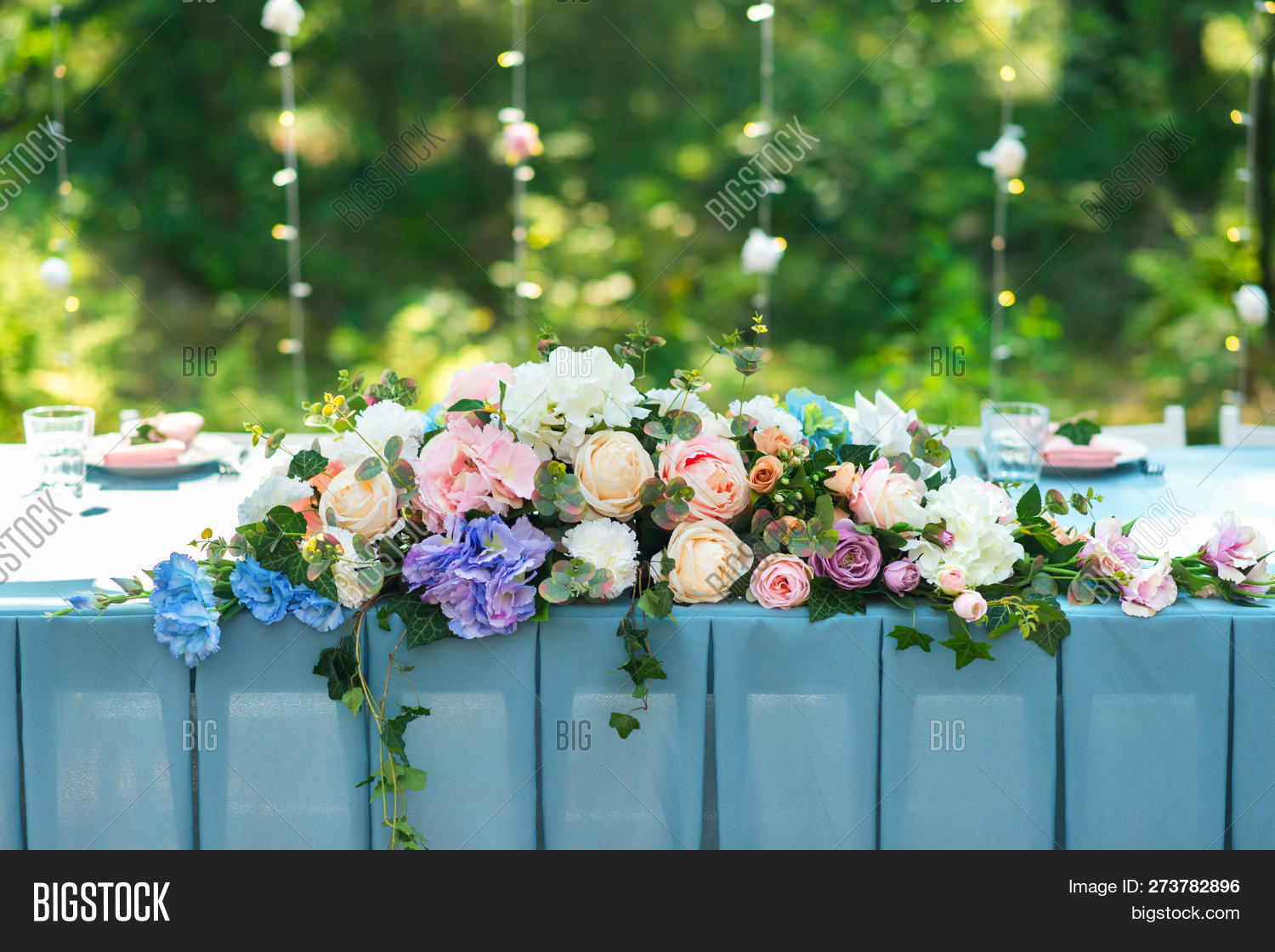 Wedding Decor Table Image Photo Free Trial Bigstock