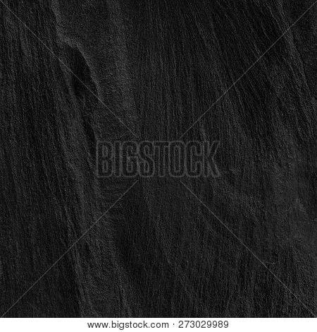 Dark Grey Black Slate Background Or Texture. Slate, Background, Black, Stone, Old, Board, Hard