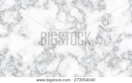 Marble Silver Texture Seamless Background. White Abstract Silver Luxury Pattern. Liquid Fluid Marbli