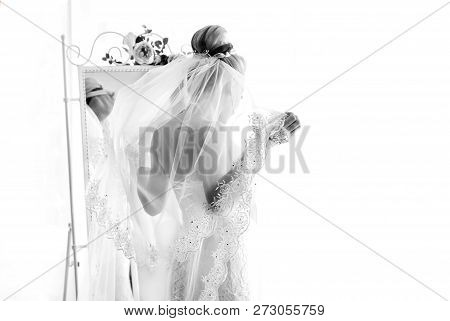 The Bridegroom Is Dressed For A Wedding Ceremony. Hands And Costume Close-up.