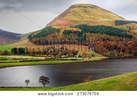 Loweswater In The Lake District Cumbria Uk