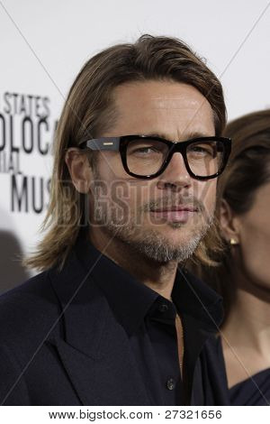 LOS ANGELES - DEC 8:  Brad Pitt arrives at the