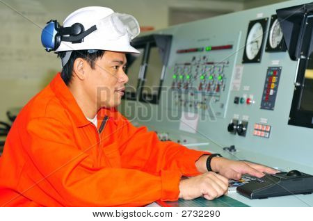 A Shipping Engineer
