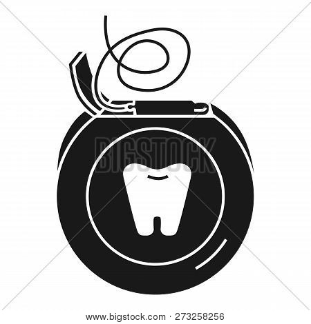 Daily Dental Floss Icon. Simple Illustration Of Daily Dental Floss Vector Icon For Web Design Isolat