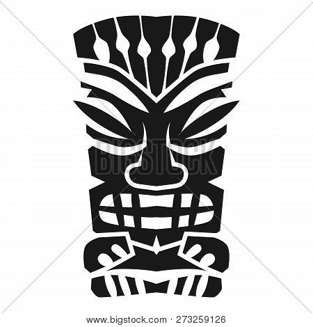 Mystery Aztec Idol Icon. Simple Illustration Of Mystery Aztec Idol Vector Icon For Web Design Isolat