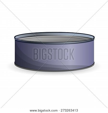 Canned Sprats Icon. Cartoon Of Canned Sprats Vector Icon For Web Design Isolated On White Background