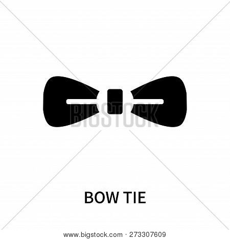 Bow Tie Icon Isolated On White Background. Bow Tie Icon Simple Sign. Bow Tie Icon Trendy And Modern