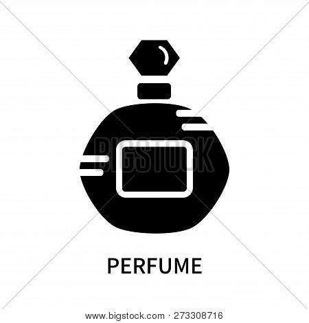 Perfume Icon Isolated On White Background. Perfume Icon Simple Sign. Perfume Icon Trendy And Modern