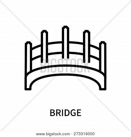 Bridge Icon Isolated On White Background. Bridge Icon Simple Sign. Bridge Icon Trendy And Modern Sym