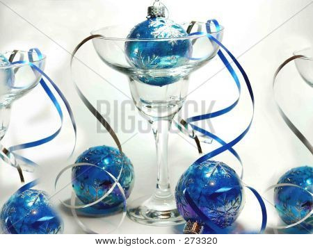 Glass  & Ribbon Streamers