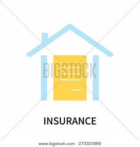 Insurance Icon Isolated On White Background. Insurance Icon Simple Sign. Insurance Icon Trendy And M