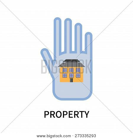 Property Icon Isolated On White Background. Property Icon Simple Sign. Property Icon Trendy And Mode