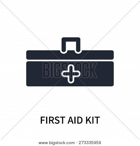First Aid Kit Icon Isolated On White Background. First Aid Kit Icon Simple Sign. First Aid Kit Icon