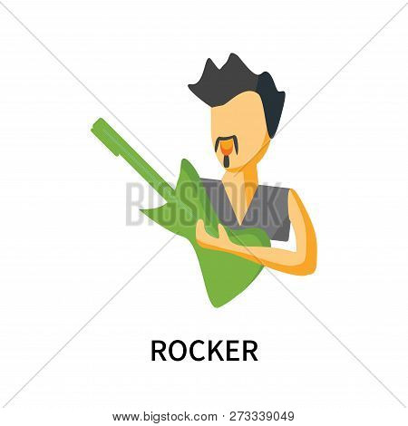 Rocker Icon Isolated On White Background. Rocker Icon Simple Sign. Rocker Icon Trendy And Modern Sym