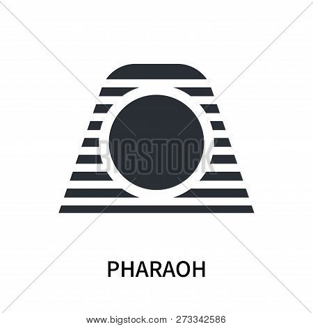 Pharaoh Icon Isolated On White Background. Pharaoh Icon Simple Sign. Pharaoh Icon Trendy And Modern
