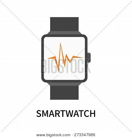 Smartwatch Icon Isolated On White Background. Smartwatch Icon Simple Sign. Smartwatch Icon Trendy An