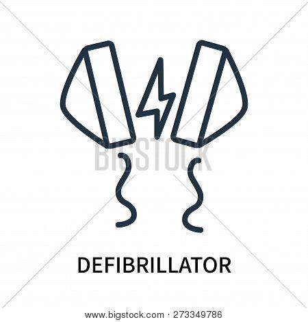 Defibrillator Icon Isolated On White Background. Defibrillator Icon Simple Sign. Defibrillator Icon