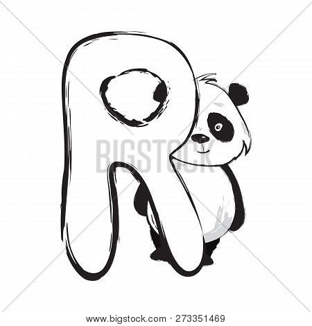Panda Bear Cute Vector Photo Free Trial Bigstock
