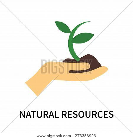 Natural Resources Icon Isolated On White Background. Natural Resources Icon Simple Sign. Natural Res