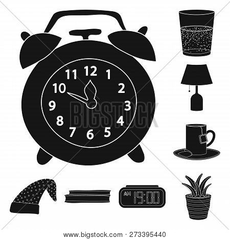 Isolated Object Of Dreams And Night Icon. Collection Of Dreams And Bedroom Stock Vector Illustration