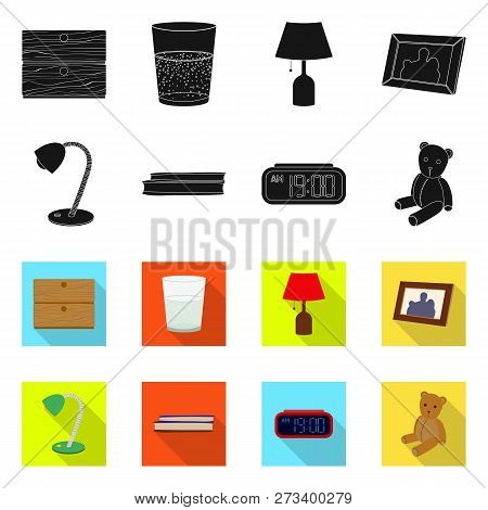 Vector Illustration Of Dreams And Night Icon. Collection Of Dreams And Bedroom Vector Icon For Stock
