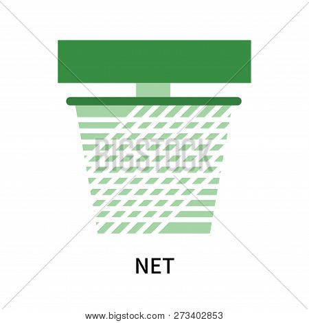 Net Icon Isolated On White Background. Net Icon Simple Sign. Net Icon Trendy And Modern Symbol For G