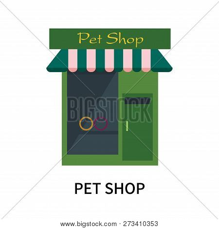 Pet Shop Icon Isolated On White Background. Pet Shop Icon Simple Sign. Pet Shop Icon Trendy And Mode