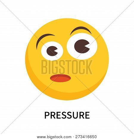 Pressure Icon Isolated On White Background. Pressure Icon Simple Sign. Pressure Icon Trendy And Mode