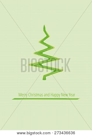 Minimal Design For Christmas Poster