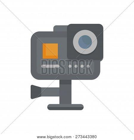 Action Camera. Action, Cam, Vector, Sport. Vector Illustration. Eps 10.