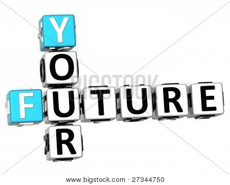 3D Your Future Crossword
