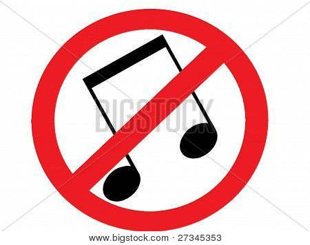 no music allowed